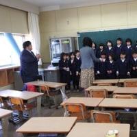 一年生教室お別れ会