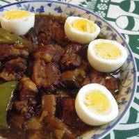 台湾の定番料理「ルーローファン」を作った