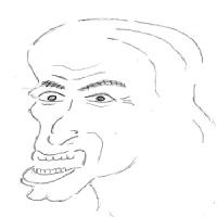 12月5日のチョコット似顔絵