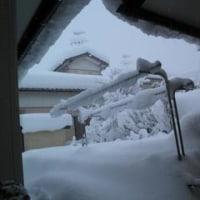 突然の豪雪