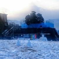 雪だるま展覧会⛄