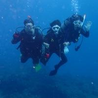 新年体験ダイビング