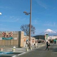 冬の富士イン富士川SA