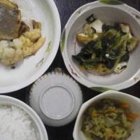 栄養科特製、本日の夕食(常菜食)
