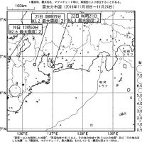 今週のまとめ - 『東海地域の週間地震活動概況(No.48)』など