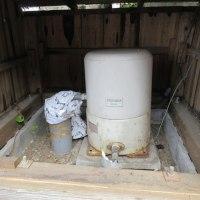 井戸のポンプ交換しました。