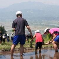 福島棚田の田植え