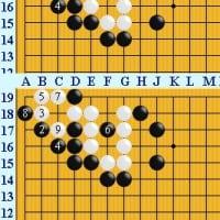 囲碁死活1018官子譜