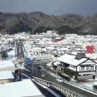 広島に負けた三次の降雪