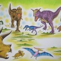 肉食恐竜軍団