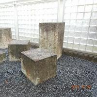 地方特産を取り入れた大谷石