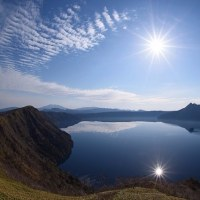夜から朝へ Lake Mashu