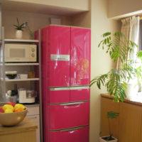 カワイイ冷蔵庫なら料理中もテンションが上りますよね
