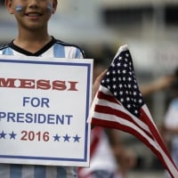 The United States presidential election is the candidate of the Messi