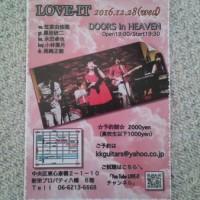 LOVE-ITワンマンライブ!!