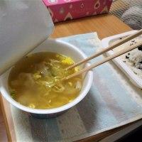 「ワンタン麺」