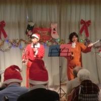 施設のクリスマス会を行いました。