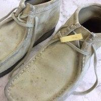 ◆ワラビー ブーツ ドロはね?汚れ きれいに