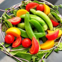美味しい野菜で お祝いランチ♪