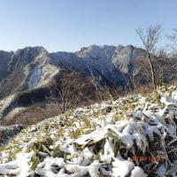 クリスマス登山は寒風山(1,763m)~