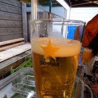 寒いけどビール
