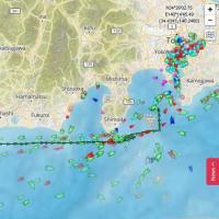 2017.6.17 アメリカ海軍のミサイル駆逐艦と、コンテナ船が衝突する事故がありました (その3)
