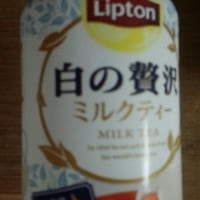 リプトン・白の贅沢ミルクティー