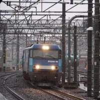 2017年3月27日,今朝の中央線 81レ EH200-19