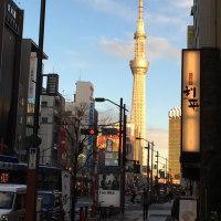 一月  東京スカイツリー