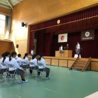 第116回津山市立林田小学校卒業証書授与式(H29.3.17)