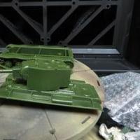 KV-1,KV-2の組み立て