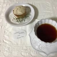 CARROT MUFFIN & Assam Tea  良いお年を~♪