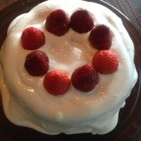 ミカカフェのクリスマスケーキ♪
