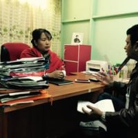 リーガルクリニック・ビルマを訪問