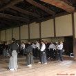 松代藩文武学校で……、居合の稽古!