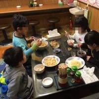 お友達家族と食事会