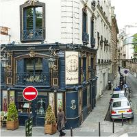 パリの青の料亭