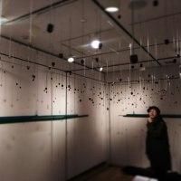 Exhibition 二人展。搬入、セッティング完了。