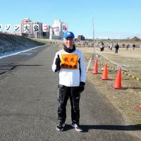 区民マラソン大会にボランティアした日 volunteered for neighborhood public marathon