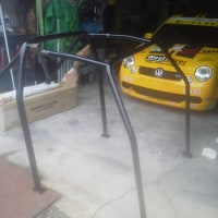 OMP製VWポロ用ロールケージ