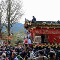 山田の春祭り・その4(本組屋台・埼玉秩父)