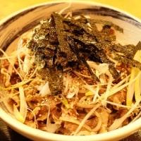 ラー油蕎麦 マツノ屋のラー油蕎麦