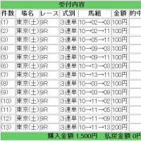 5/23競馬予想:カーネーションC&昇竜S
