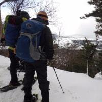 2017年2月21日(火) [滋賀]マキノ高原へ、山ガールさんたちとスノーシュー