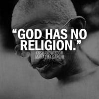ガンジーの信仰