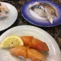 引き分けなのに、帰りはお寿司