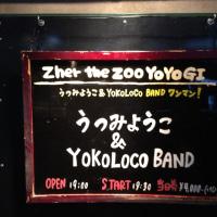 2013.11.20 うつみようことYOKOLOCO BAND @ 代々木Zher the ZOO