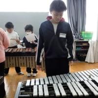 中学部2年生 音楽の様子