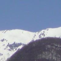 本館2階からの山々、、