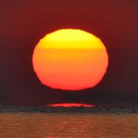 快晴の昇陽